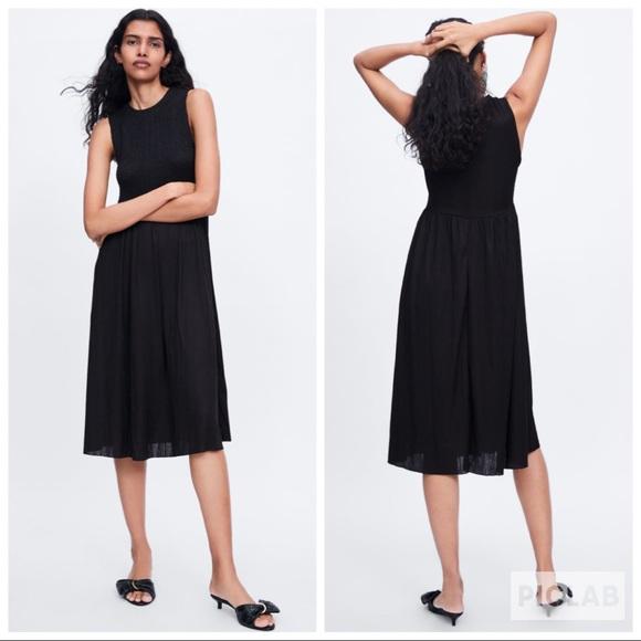 Zara Dresses & Skirts - NWT • Zara • Elasticized Dress